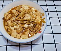 泡笋豆腐的做法