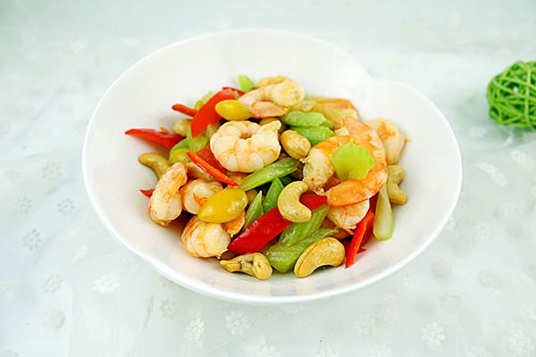 五彩炒虾仁#每道菜都是一台食光记#的做法