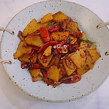 零失败「腊味干锅土豆片」