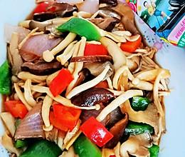鲜掉眉毛的蚝油炒杂菇的做法