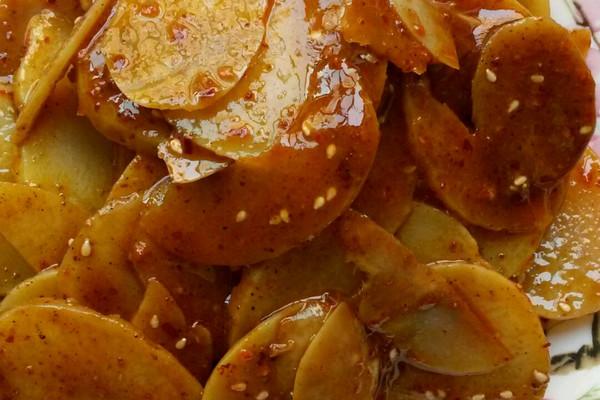 麻辣土豆片的做法