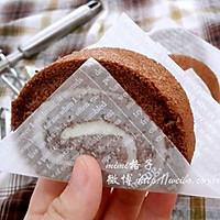 可可戚风蛋糕卷(来自中岛老师的方子)的做法图解25