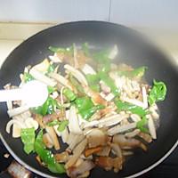 干煸五花肉杏鲍菇的做法图解9