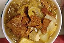 东北菜之大白菜豆腐炖粉条的做法