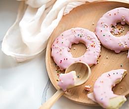 草莓甜甜圈饼干的做法