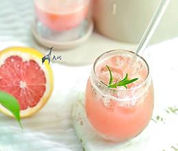 冰爽葡萄柚汁,甩出市售饮料一条街#夏日冰品不能少#的做法