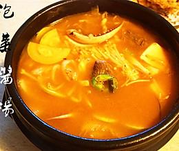 泡菜酱汤的做法
