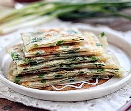 快手葱油饼(饺子皮版本)的做法