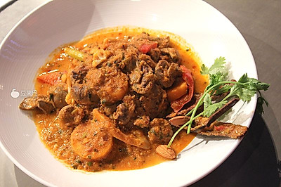 印度咖哩羊腰—《顶级厨师》参赛作品