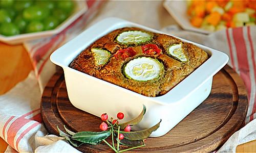 """南瓜胡萝卜荞麦快手蛋糕#在""""家""""打造ins风美食#的做法"""