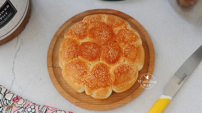 【脆底芝麻面包】用电饭煲做不上火,还松软的做法
