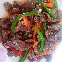 #新春美味菜肴#小炒牛肉的做法图解10