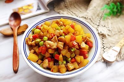 芦笋土豆炒肉丁