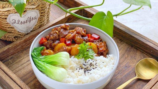 牛肉烩饭#橄享国民味 热烹更美味#的做法