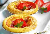 草莓蛋挞的做法