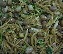 拌芥菜丝——小米粥绝配的做法