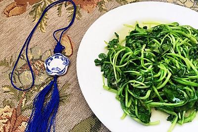 清炒鸡毛菜