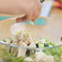 健康便当14(香煎豆腐+鸡胸肉生菜沙拉)的做法图解6