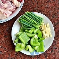 姜葱爆炒白鸭肉的做法图解2
