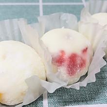 草莓山药雪媚娘#餐桌上的春日限定#