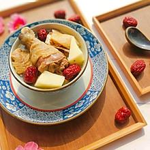山药红枣煲鸡汤