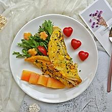 #秀出你的早餐#花样鸡蛋卷饼