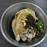 【茶香鸡】——COUSS C玩家级烤箱CO-7501出品的做法图解2
