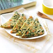 蔬菜鸡蛋米饼