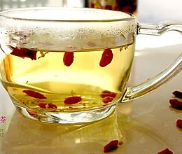 枸杞桂花茶的做法