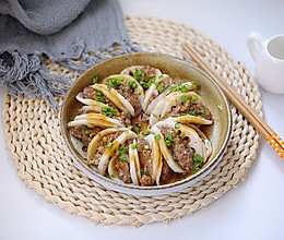 藕夹蒸肉#秋天怎么吃#的做法