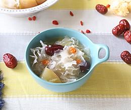 银耳苹果红枣羹——宝宝辅食的做法
