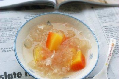 木瓜银耳糖水
