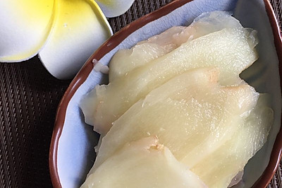 开胃糖醋生姜片