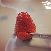 草莓玫瑰的做法图解6
