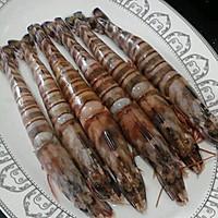 红烧天然野生虾的做法图解4