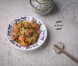 日式料理:魔芋烧肉沫的做法