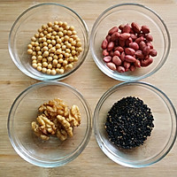 【豆浆机】花生核桃豆浆的做法图解1