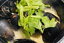 白葡萄酒煮青口贝的做法