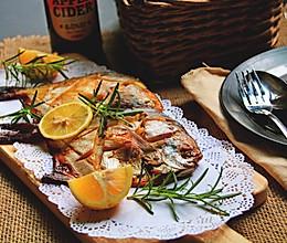 烧烤鲳鱼的做法