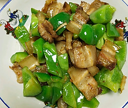 青椒炒五花肉的做法
