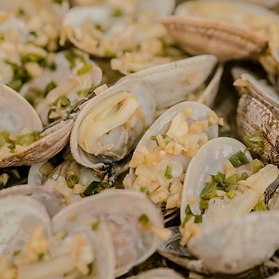 蛤蜊粉丝煲的做法 步骤12