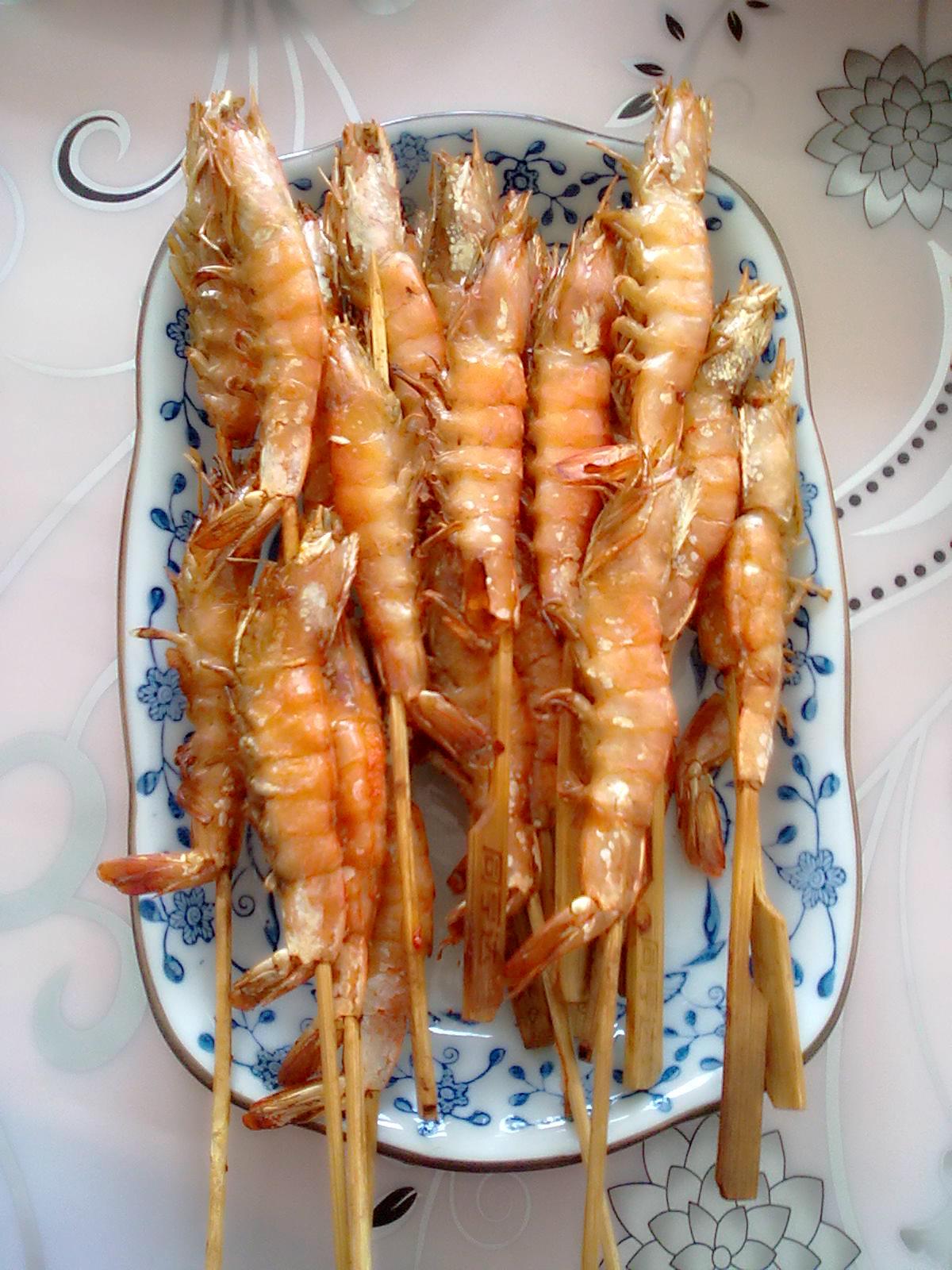 关于友情的文章_椒盐烤虾的做法_菜谱_豆果美食
