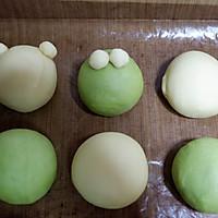 青蛙凯蒂挤挤包(一次发酵)#网红美食我来做#的做法图解16