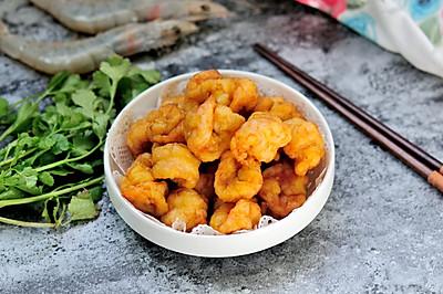 软炸虾仁 简单又好吃的软嫩虾仁做法