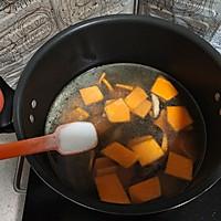 奶白菜蘑菇南瓜汤  #花10分钟,做一道菜!#的做法图解7