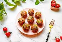 杂粮蔬菜饭团#带着美食去踏青#的做法