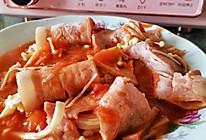 酸酸甜甜的培根金针菇卷的做法