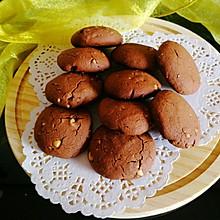 #憋在家里吃什么#超好吃的花生巧克力饼干