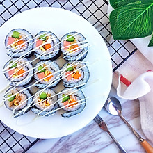 #童年不同样,美食有花样#金枪鱼寿司卷