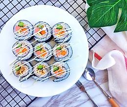 #童年不同样,美食有花样#金枪鱼寿司卷的做法